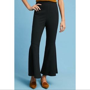 NWT $118 Anthropologie Sz XL Flared Crop Pants